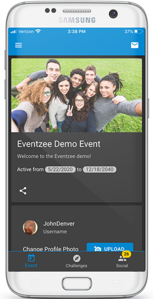 Eventzee's scavenger hunt app allows for complete customization. Request our free demo today