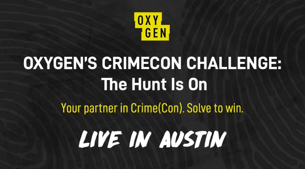 Crimecon announcing their event in 2021 which feature the use of eventzee's virtual scavenger hunt app